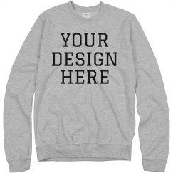 Design A Custom Crewneck Sweatshirt