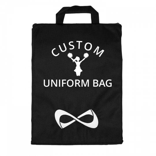 Personalised Dance Gymnastics Costume Dress Cover Glitter Suit Bag Cheerleading