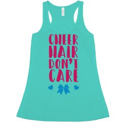 Cheer Hair Don't Care Crop Tank