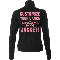 Custom Ballerina Hoodie Crop