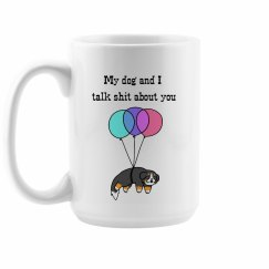 Bernese Dog Mom Mug