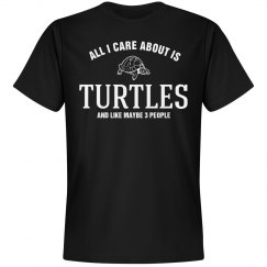 Care about is Turtles