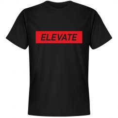 ELEVATE -BLACK TEE