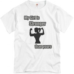 """Mens """"Stronger Girl"""""""