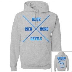 Richmond Metallic Pullover