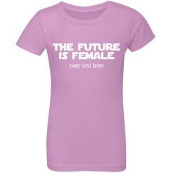 Cute Custom Future Is Female