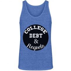 College Debt Men's Tank