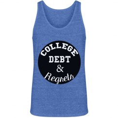 College Debt Men's Tank
