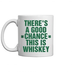 St Patricks Irish Coffee Mug