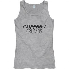 Coffee & Crumbs Tank Top