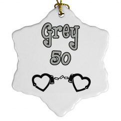 Grey Ornament