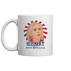 Hillary Please Election 2016 Mug