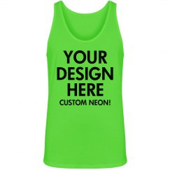 Custom Green Neon Tank
