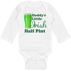 Longsleeve Onesie Irish Pint