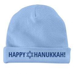 Happy Hanukkah Baby Hat