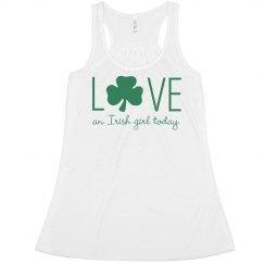 Love Irish Girls St. Patrick's Day