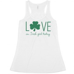 Love Irish Girls St. Patrick's Day