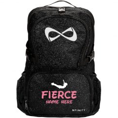 Fierce Cheerleader Custom Nfinity Sparkle Cheer Bag