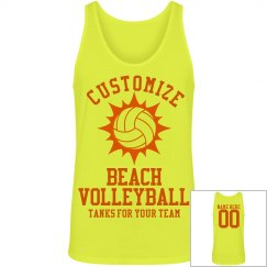 Custom Beach Volleyball