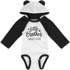 Custom Little Brother Hooded Bodysuit