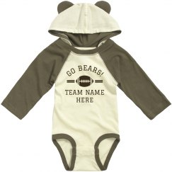 Custom Bears Team Bodysuit