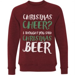 Thought You Said Christmas Beer