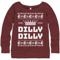 Dilly Dilly Women's Ugly Sweater
