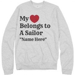 Heart belongs to a sailor