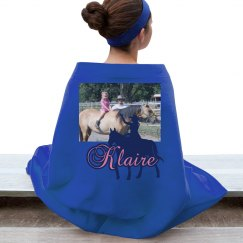 LMM#19  cowgirl dreams blanket