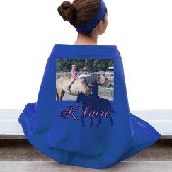 LMM#28 cowgirl dreams blanket