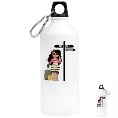 FGT Brunettea Aluminum Water Bottle