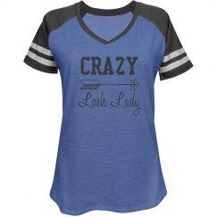Crazy Lash Lady Tee