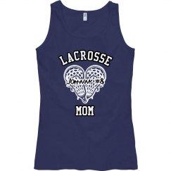 Lacrosse Heart Mom