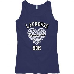 Lacrosse Heart Mom