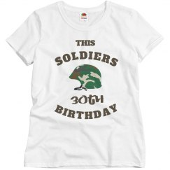 Soldiers 30th birthday