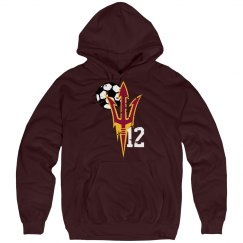 Pitchfork with # hoodie