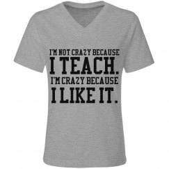 I... teach.... I like it