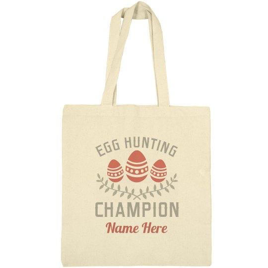 Egg Hunt Champion Tote