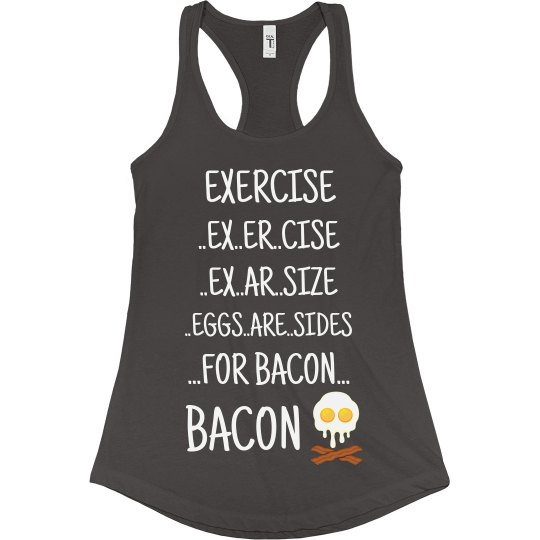 Eggs are Side for Bacon
