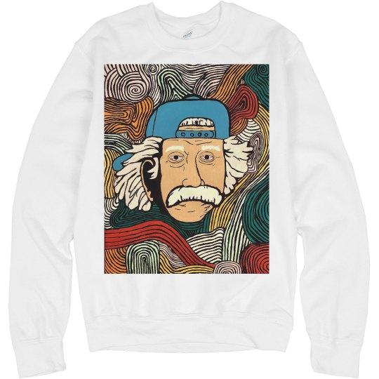 Einstein sweatshirt