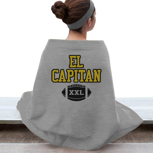 El Cap Football Blanket