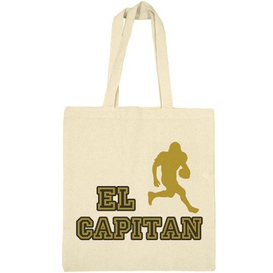 El Cap Football Tote Bag