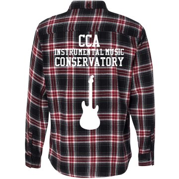Electric Guitar Flannel #1