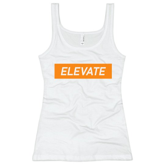 Elevate Bella Tank Top - Orange