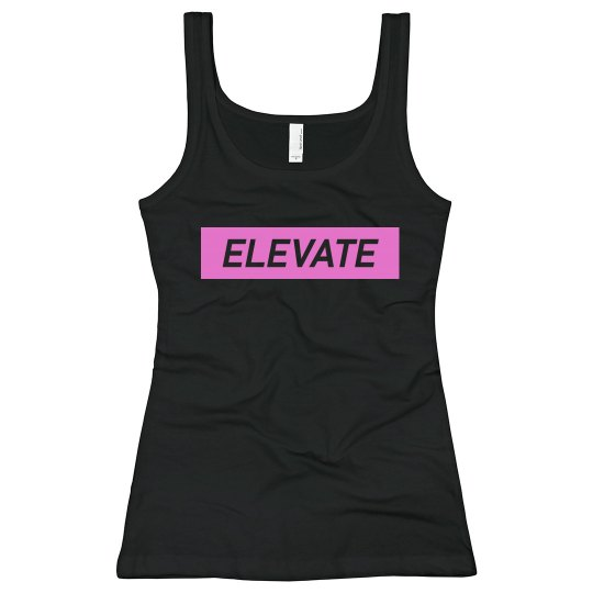 Elevate Bella Tank Top- Pink