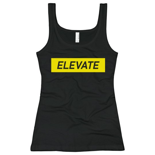 Elevate Bella Tank Top- Yellow