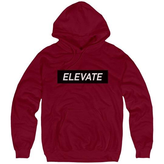 Elevate Hoody - Deep Red