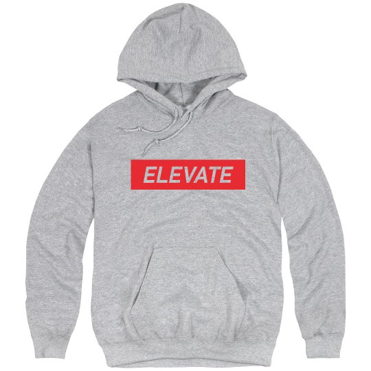 Elevate Light Steel Hoody