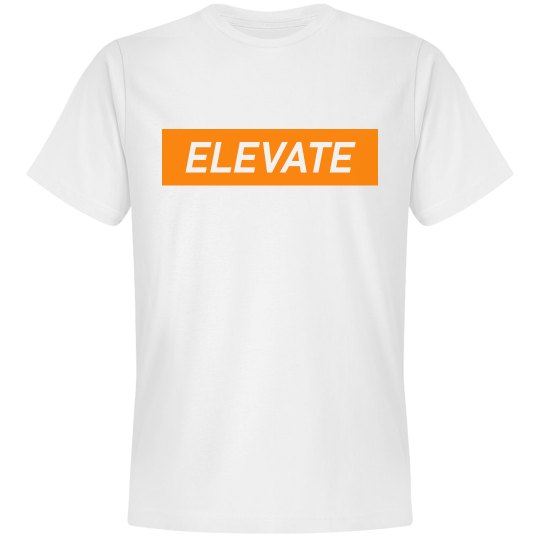 Elevate Tshirt- Orange