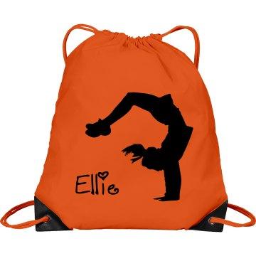 Ellie cheerleader bag